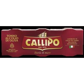 CALLIPO  Tuńczyk w oliwie z oliwek 3x80g