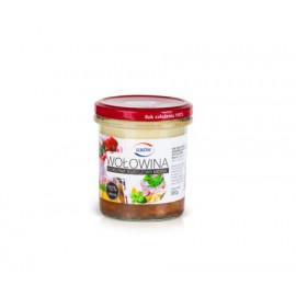ŁUKÓW Wołowina konserwa tłuszczowo-mięsna 300 g