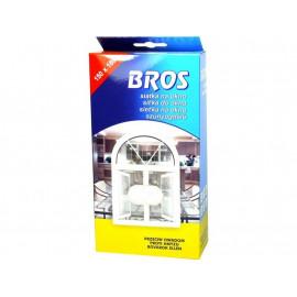 Bros siatka na okno 150x180 Biała