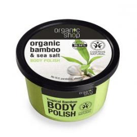 Organic Shop peeling do ciała organiczny Tropikalny Bambus 250 ml