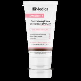 Bielenda - Dr Medica EMOLIENTY - Dermatologiczna emolientowa EMULSJA do mycia twarzy skóra SUCHA i WRAŻLIWA 150g