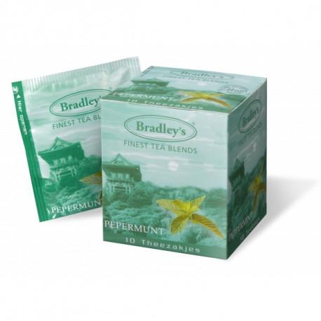 Bradleya Peppermint Tea 10 x 1,5 g