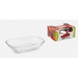 GURALLAR ARTCRAFT Komplet dwóch szklanych salaterek 24cm
