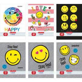 Herlitz Smiley  60k/A5 kratka mix rodzaj
