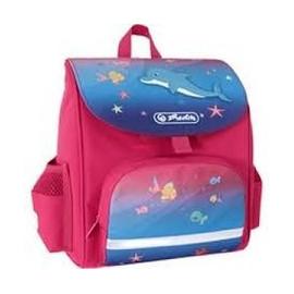 HERLITZ Tornister Mini Softbag Little Dolphin  Różowy