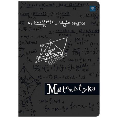 INTERDRUK ZESZYT MATEMATYKA A5/60K (miękka oprawa)