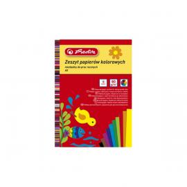 Herlitz Zeszyt papierów kolorowych A5