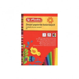 Herlitz Zeszyt papierów kolorowych - A4