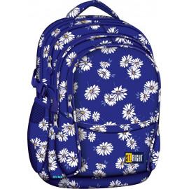 ST.RIGHT - Plecak szkolny DAISIES BP1 w kwiaty
