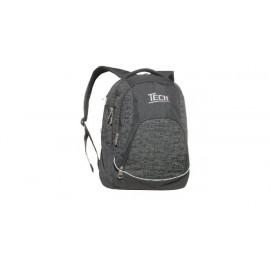 Plecak Tech czarno-grafitowy