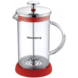 KLAUSBERG Zaparzacz do Kawy/herbaty  z dociskiem 600ml