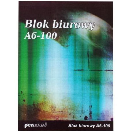 PENWORD Blok Biurowy A-6/ 100k.