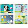 Inter-druk Zeszyt papierów kolorowych - A5 , 10 kartek