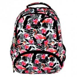 St. majewski Plecak BP7 Flamingo Pink & Black