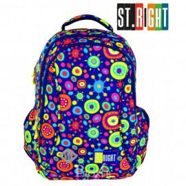 MAJEWSKI   Plecak szkolny Stright BP-26 Jelly