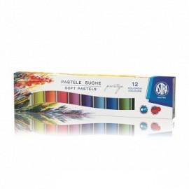 ASTRA Pastele suche Prestige okrągłe 12 kolorów
