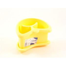 TONTARELLI Ociekacz na sztućce żółty