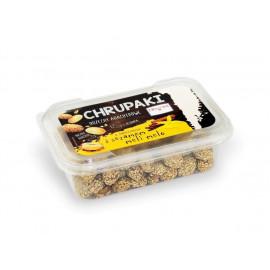 HELCOM Chrupaki Orzechy arachidowe w słodkiej panierce z sezamem meli-melo , 150 g
