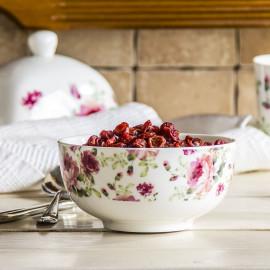 ALTOM Miska / Salaterka porcelanowa RÓŻA BIAŁA 0,5 l