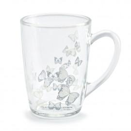 FLORINA BUTTERFLY  Kubek szklany / Szklanka 330 ml