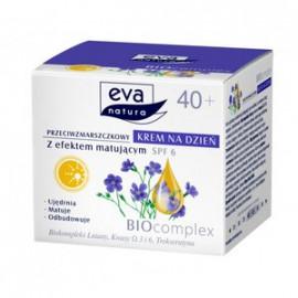 EVA Natura Biocomplex  Przeciwzmarszczkowy z efektem matującym spf 6 krem na dzień 50ml