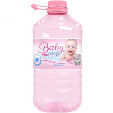 BABY ZDRÓJ WODA ŹRÓDLANA NIEGAZOWANA 3L