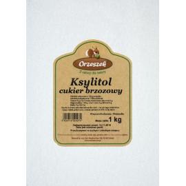 ORZESZEK Ksylitol - cukier brzozowy 1 kg