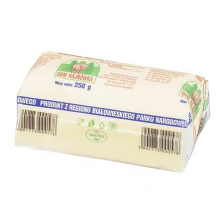 OSM HAJNÓWKA Masło extra zawartość tłuszczu 82% 250G
