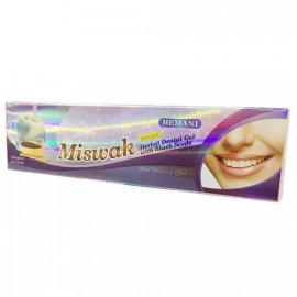 HEMANI Żel wybielający do zębów miswak ziołowy 100g