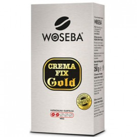 Woseba Crema Fix Gold Kawa Palona Mielona 250g