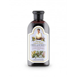 Babuszka Agafia ziołowy płyn do kąpieli z mydlnicą lekarska relaksujący 500ml