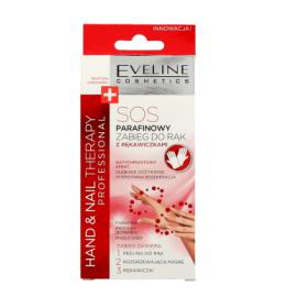 Eveline Hand Nail Therapy Professional - SOS parafinowy zabieg do rąk z rękawiczkami 2x7ml