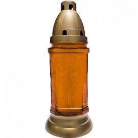 Ledpol Lampion Szklany Z Wymiennym Wkładem A667/2, mix kolorów