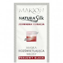 Marion NaturaSilk maska rozświetlająca włosy saszetka 10 ml