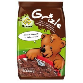 GRANEX Grizie płatki śniadaniowe o smaku czekoladowym 180g