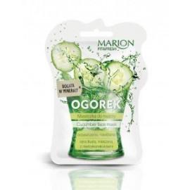 Marion - Fit & Fresh - MASECZKA do twarzy OGÓREK skóra tłusta, mieszana, z niedoskonałościami 7,5ml