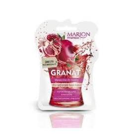 Marion - Fit & Fresh - MASECZKA do twarzy GRANAT skóra naczynkowa, zmęczona, przesuszona, zaczerwieniona 7,5ml