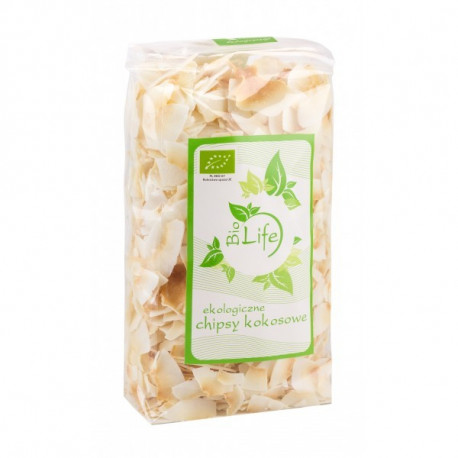 Bio Life Ekologiczne Chipsy Kokosowe 150 g