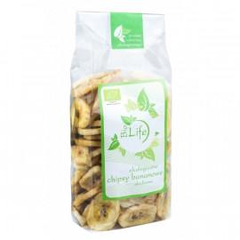 Bio Life Ekologiczne Chipsy Bananowe Słodzone 150 g