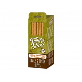 Paluszki Twigs&Sticks z oliwkami czarnymi i zielonymi 70g