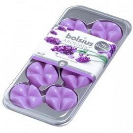 Bolsius Aromatic Creations wosk zapachowy płatki zapachowe New 8 sztuk - Lawenda