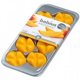 Bolsius Aromatic Creations wosk zapachowy płatki zapachowe New 8 sztuk -Egzotyczne mango