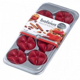 Bolsius Aromatic Creations wosk zapachowy płatki zapachowe New 8 sztuk - Pieczone jabłko