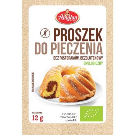 Amylon Proszek do pieczenia bezglutenowy BIO, 12 g