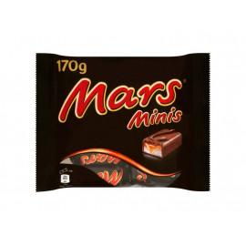 Mars Minis Batoniki z nugatowym nadzieniem oblane karmelem i czekoladą 170 g
