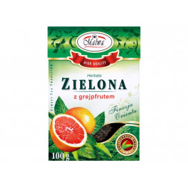 Malwa Herbata zielona z grejpfrutem 100 g