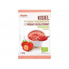 Amylon Kisiel o smaku truskawkowym ekologiczny 30 g