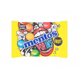 Mentos Pop Ins Fruit Cukierki do żucia 25 g