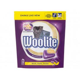 Woolite Black Darks Denim Kapsułki do prania 616 g (28 sztuk)