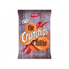 Crunchips The Chillis Chipsy ziemniaczane 140 g